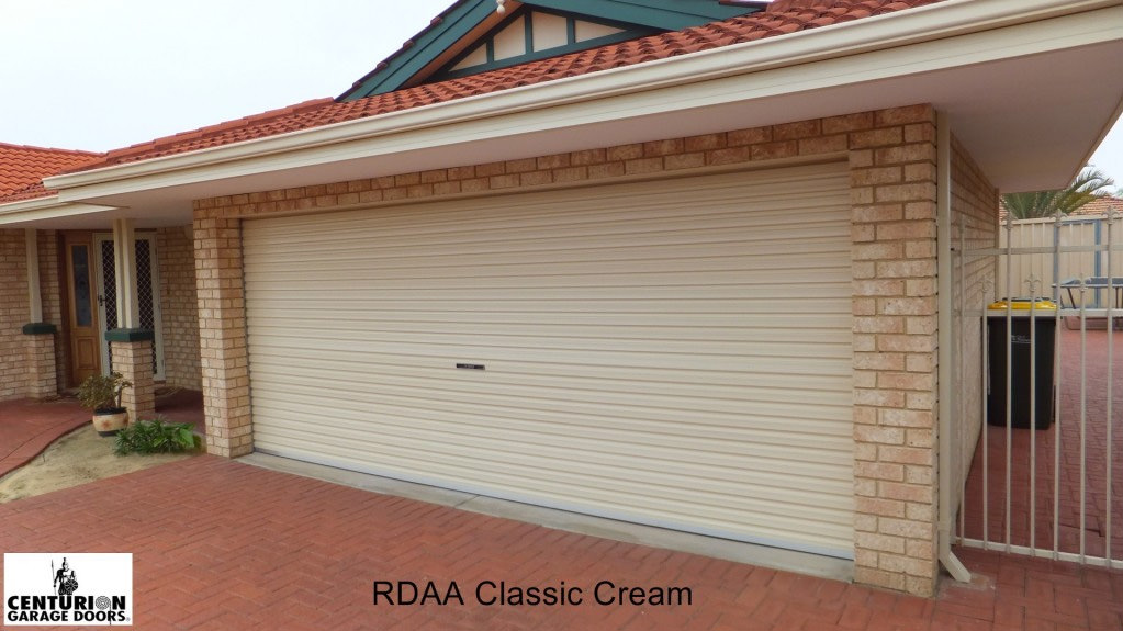 Classic Cream Garage Doors Sunshine Coast Caloundra