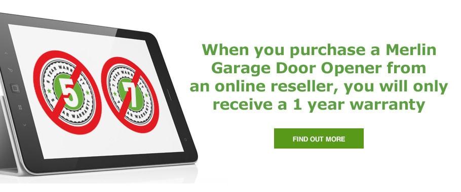 We use Merlin garage door openers